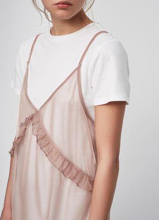 Комбинация платье+тюль