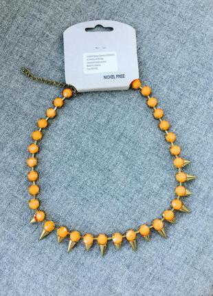 Ожерелье шипы