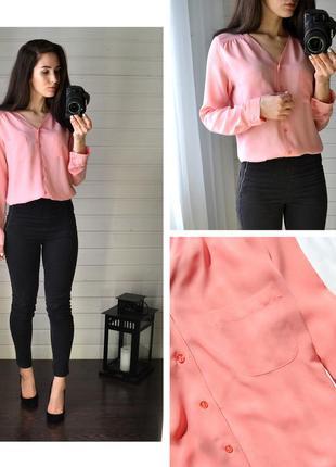 Нежно-розовая блуза atmosphere