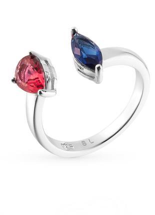 Серебрянное кольцо с алпанитами