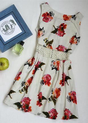 Сукня зі вставкою мережива від ax paris