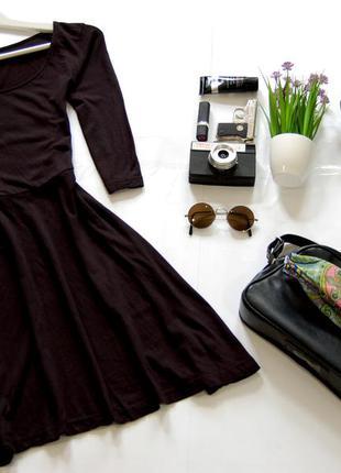 Платье черного цвета atmosphere