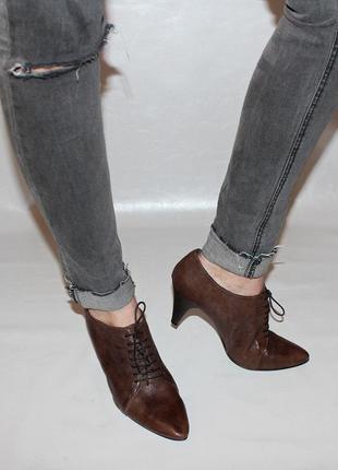 Туфли 41 marie claire, италия кож оригинал