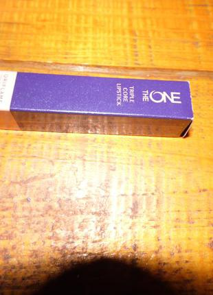 Губная помада с блеском 3-в-1 the one triple core