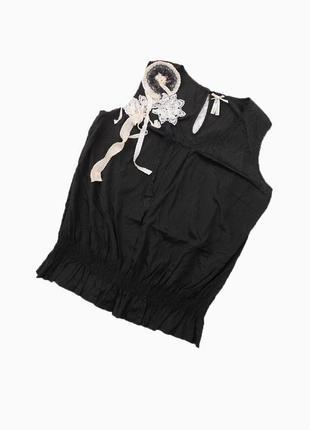 Шикарная блуза с брошью
