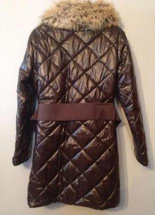 Зимнее пальто stradivarius