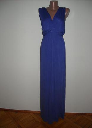 Платье dorothi perkins синего цвета ,стильное