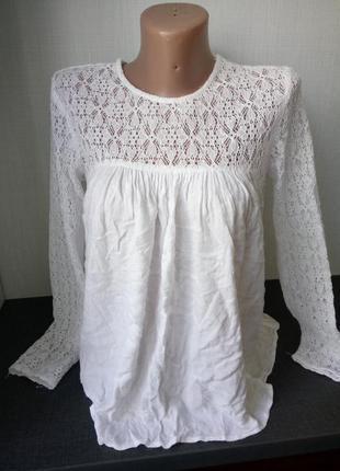Ультромодная блуза zara