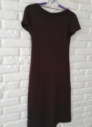 Трикотажное платье наф наф