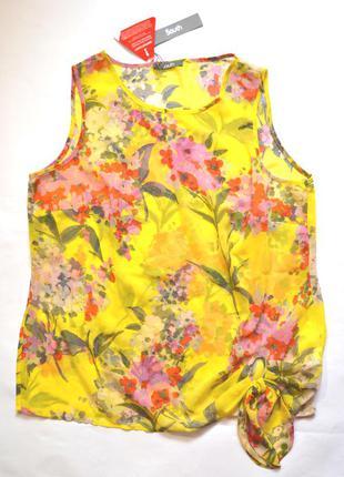 Легкая шифоновая блузка, бренд  south