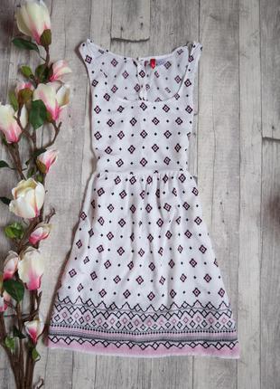 Легкое милое платье фирмы h&m (индия)
