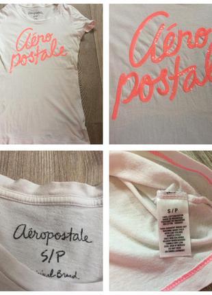 Aeropostale/ футболка/паетки/s
