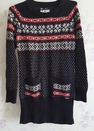 Теплое платье colins