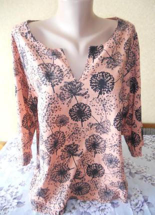 Блуза с одуванчиками