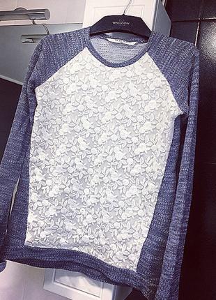 Стильный свитер/ажурный реглан/ нарядная кофта/ стильная рубашка/ бобка
