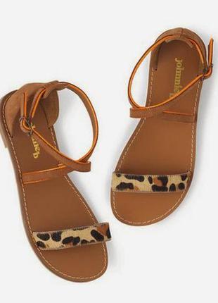 Кожаные босоножки сандали johnnie b 41767