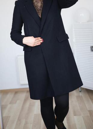 Бойфренд-оверсайз,очень крутое, стильное,брэндовое, пальто,р.xs-s