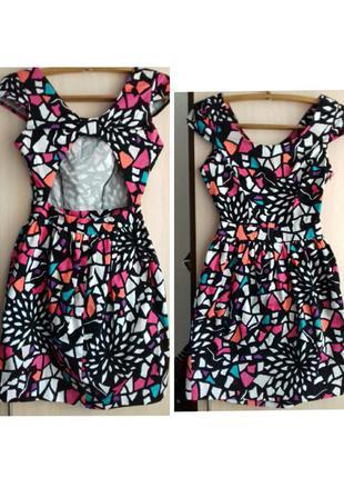 Платье asos с открытой спиной