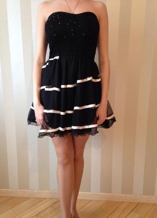 Нарядное платье - -бюстье