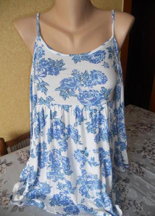 Трикотажная блуза с открытыми плечами