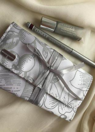 Набор clinique (тени +карандаш +холдер)