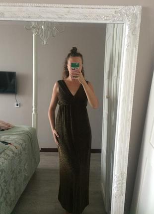 Сукня з люрекс ниткою