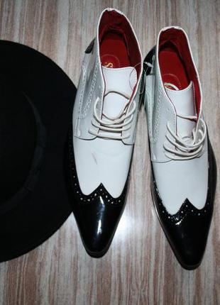 Крутые ботинки в итальянском стиле