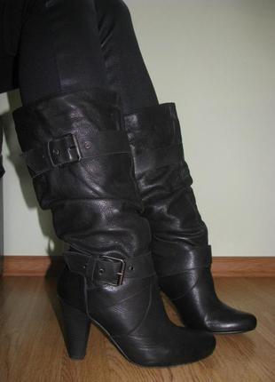 Шкіряне взуття від zara