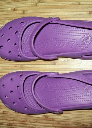 235грн со скидкой -50%crocs фиолетовые 38(24см)