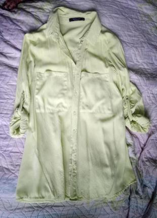 Рубашка яркого цвета