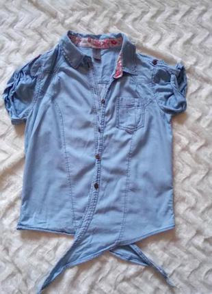 Сорочка на короткий рукав