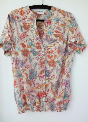 Скидка!  коттоновая летняя  рубашка, блузочка yessica 48,50 p.