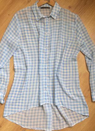Лёгкая блузка в клетку