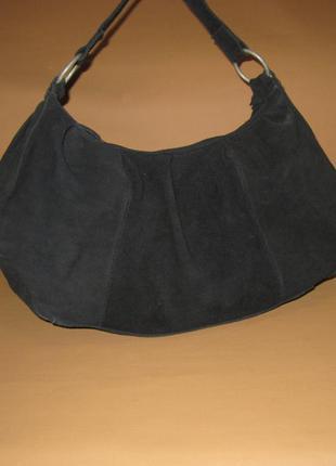 Большая брендовая кожаная сумка hobo companys италия