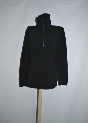 Шикарная флисовая кофточка, черного цвета, очень теплая и приятная к телу!