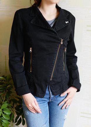 Косуха из плотного джинса