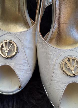 Versace оригинал летние туфли натуральная кожа