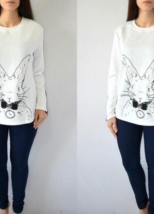 Свитшот с кроликом