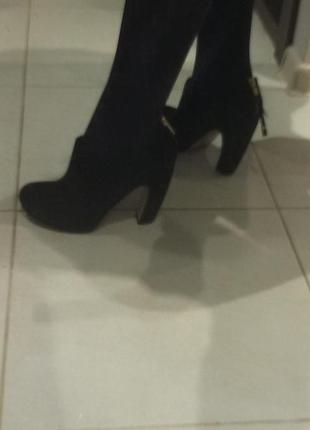 Великолепные замшевые ботиночки top shop