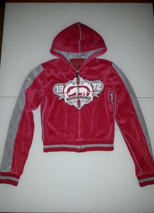 Олимпийка кофта куртка eckored индонезия велюр новая коллекция будь модной! распродажа!