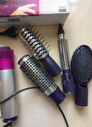 Фен фен-щётка philips studio styler hp 4670