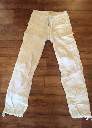 Летние белые штаны h&m