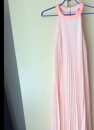 Плісіроване максі плаття ted baker