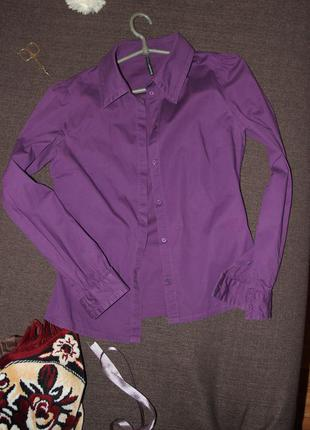Рубашка блуза naf-naf