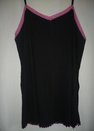 Ночная рубашка , майка, хлопковая большой размер 58/60