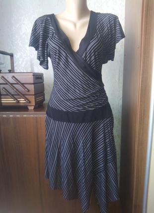 Трикотажное платье 40 размер