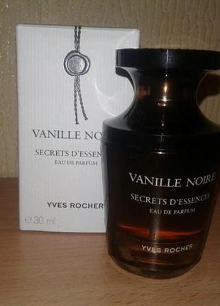 Парфюмированная вода vanille noire: yves rocher