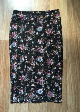 Очень красивая юбка длинная ( сиди / карандаш )