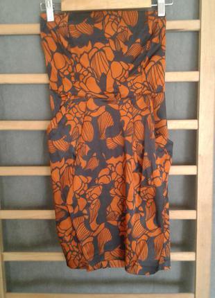 Красивое мини платье