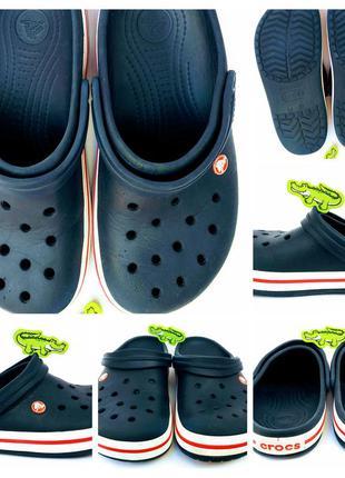 Оригінальні crocs крокс m8/w10 40/41 розміру 0159